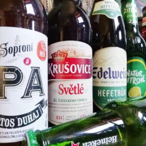 Üveges sörök & Cider